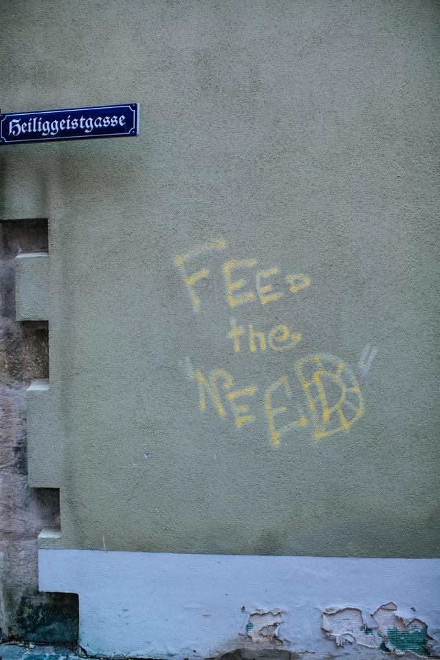 Feed the need photo Markus Spiske