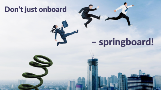 Springboarding for people-leaders in new roles